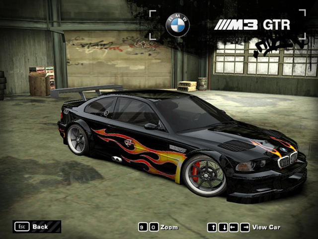Taukirknalo Bmw M3 Gtr Most Wanted
