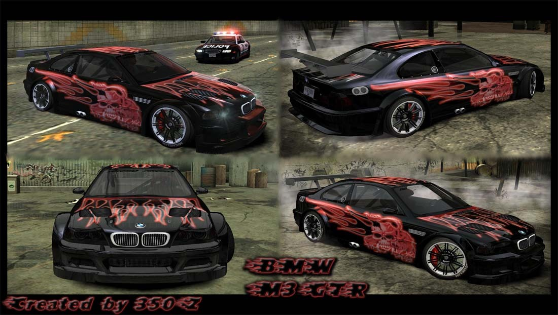 bmw m3 gtr most wanted. Car: BMW M3 GTR. Description: