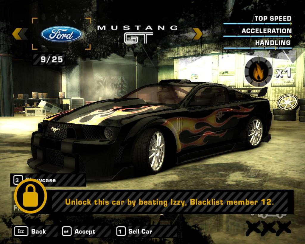 Nfs Most Wanted Save Games All Cars