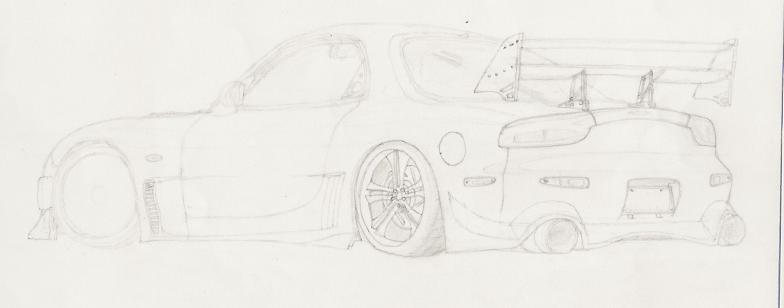 NFSUnlimited.net • View topic - Car sketch ideas