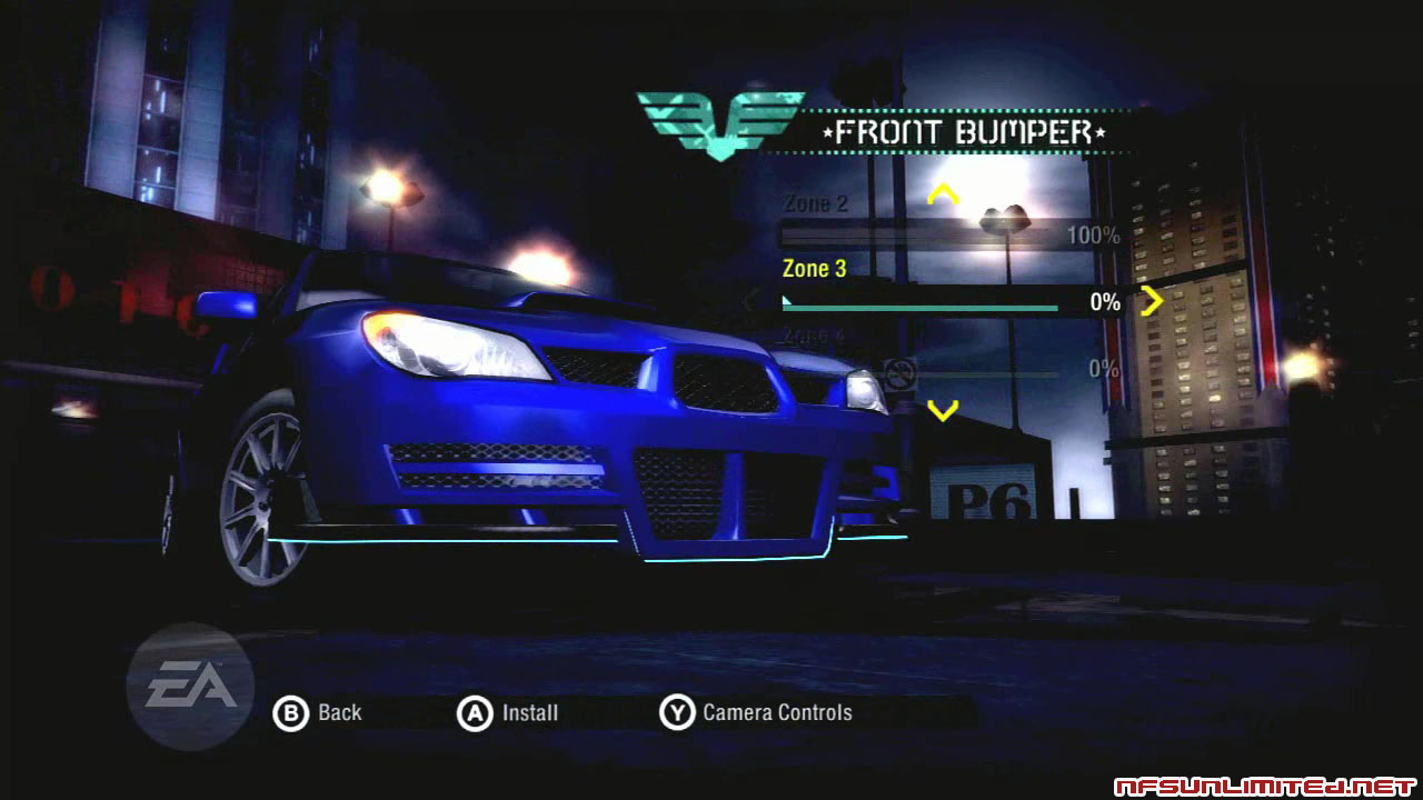 nfs shift 2 gaming zone cars
