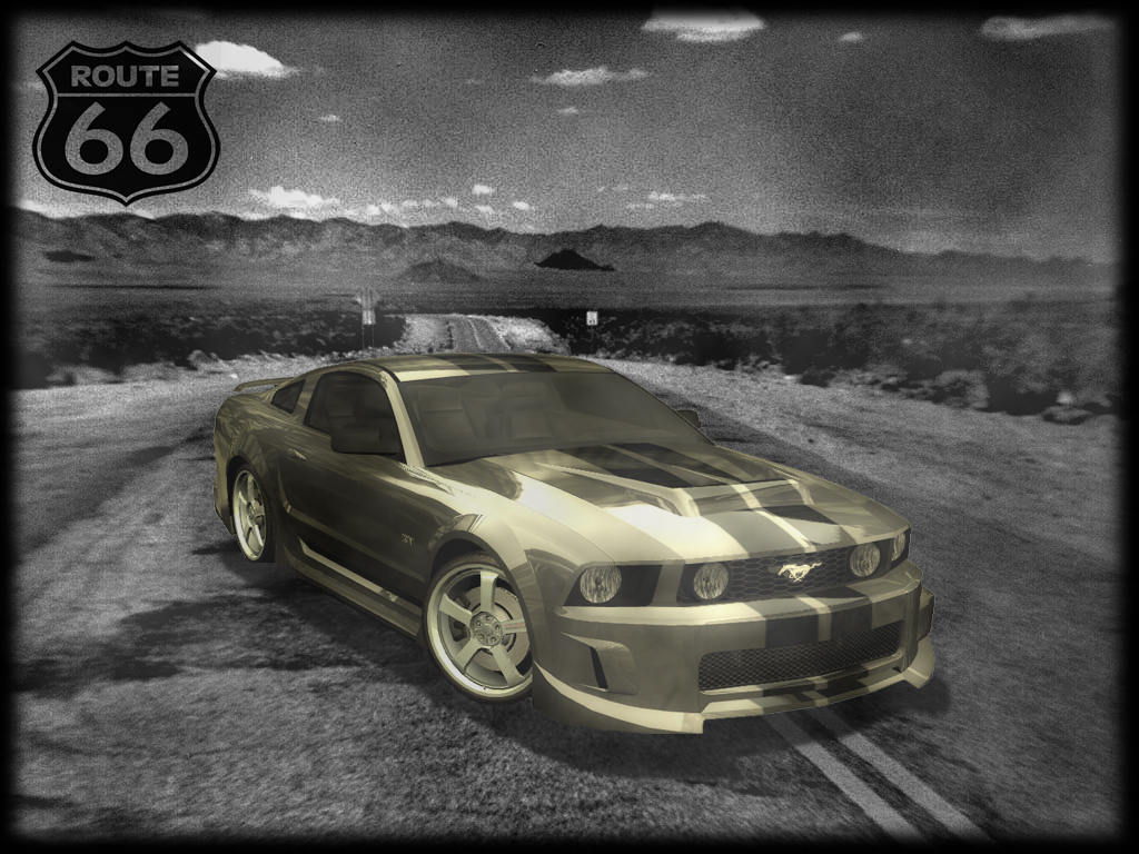 Route 66 Mustang