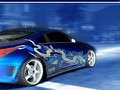 350Z blue dragon