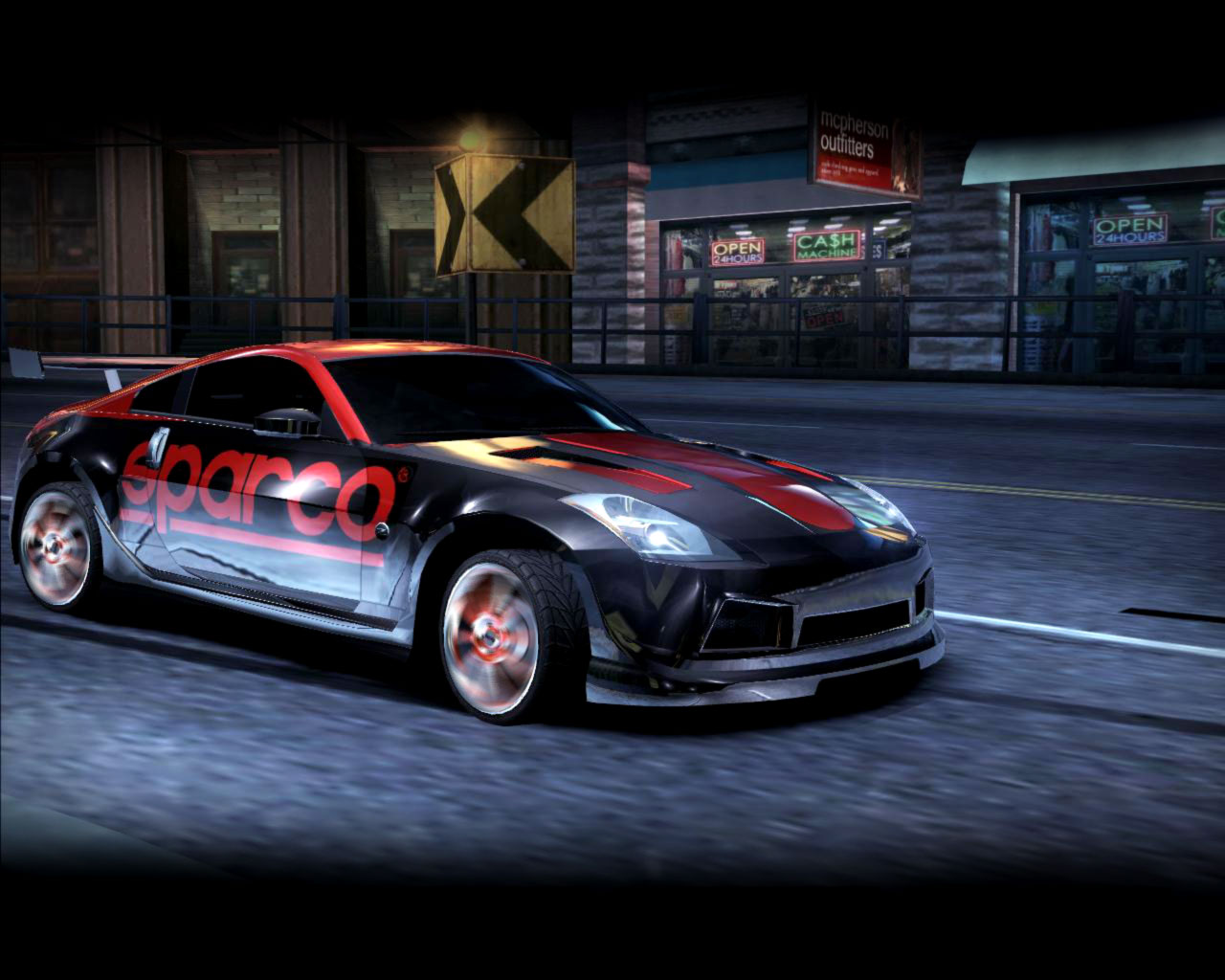 how to get 350z in need for speed carbon