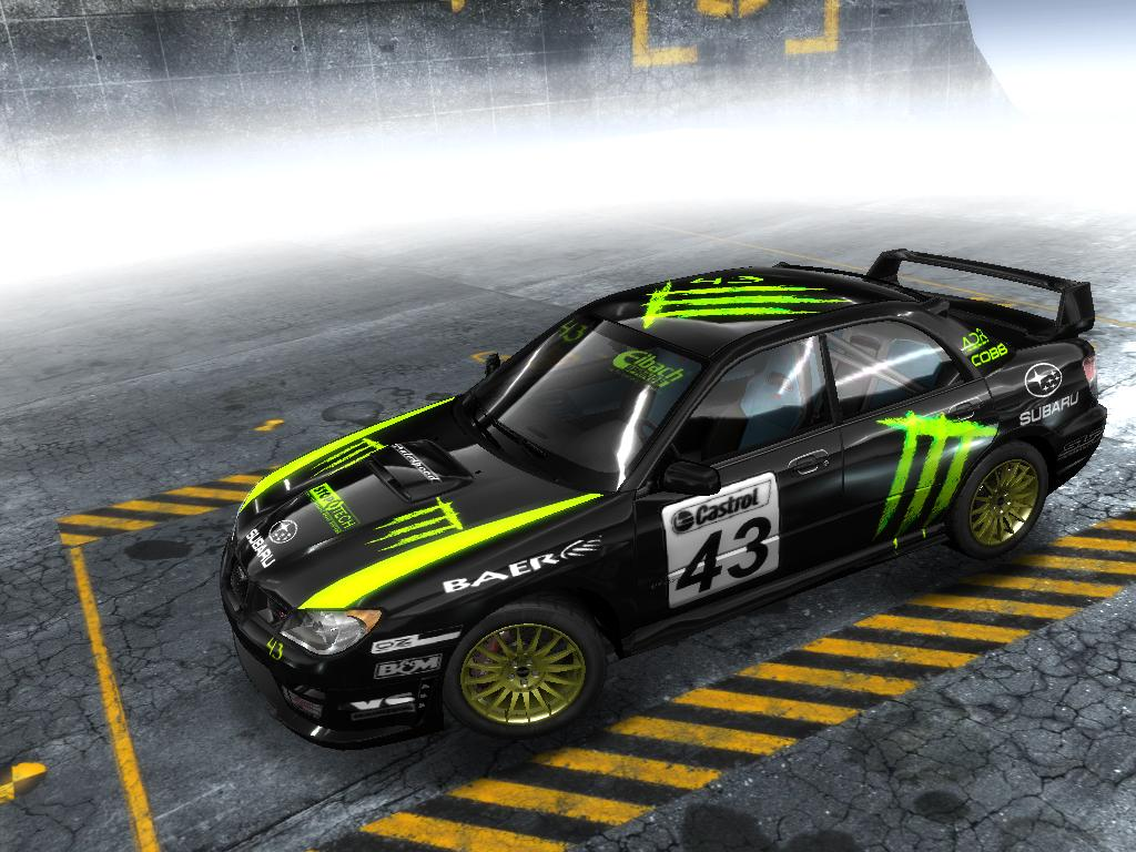 Monster Energy Impreza