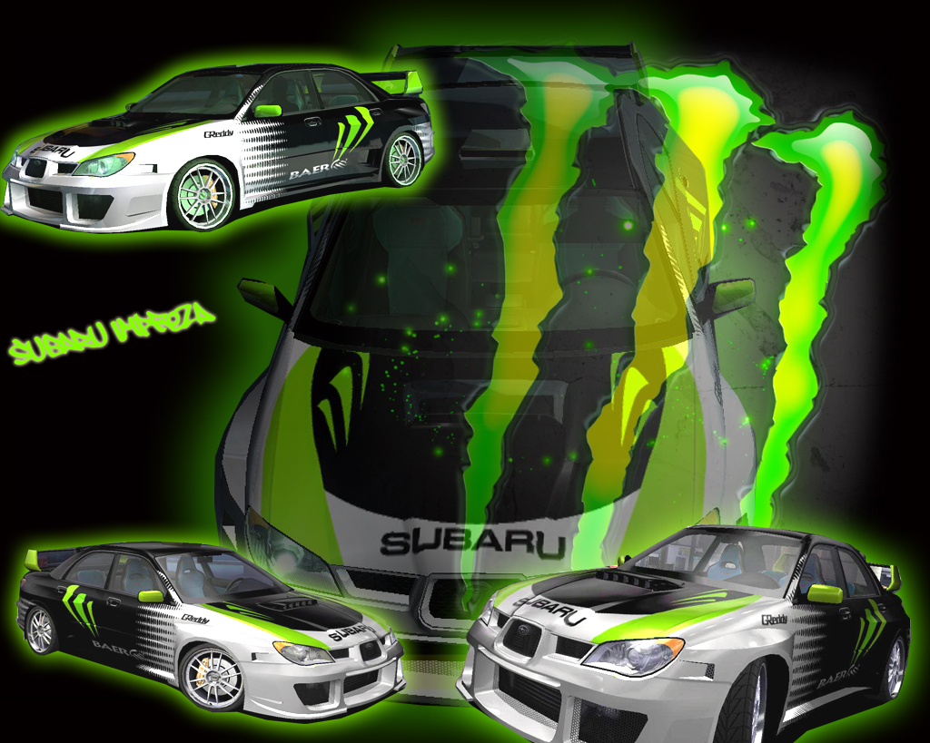 monster energy subaru