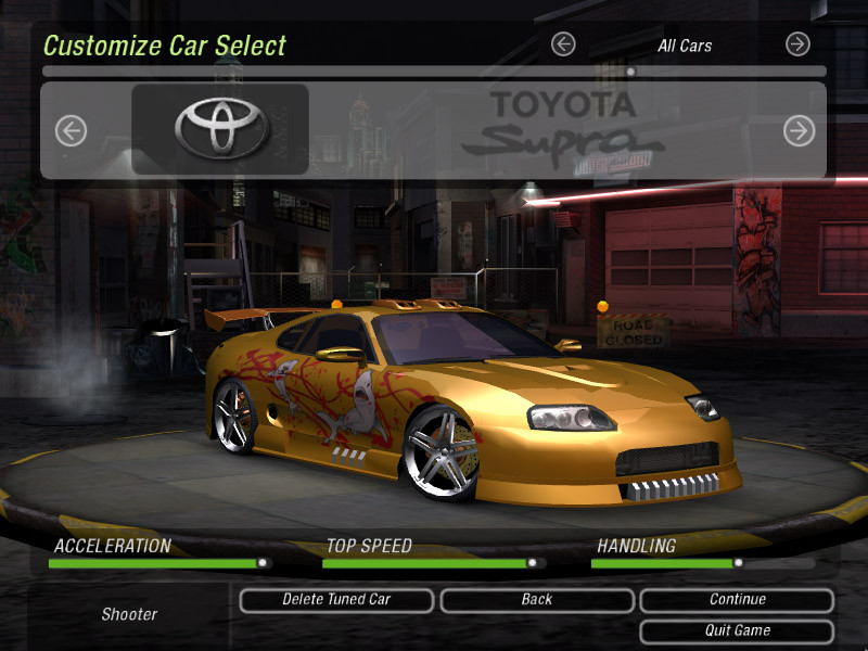 NfS Most Wanted Game Save Temp 350
